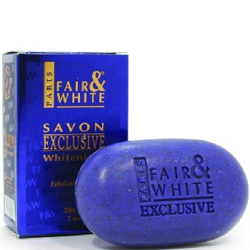 Fair & White Exclusive Whitenizer Exfoliating Soap 200g