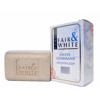 Fair & White Savon Gommant Exfoliating Soap 7oz