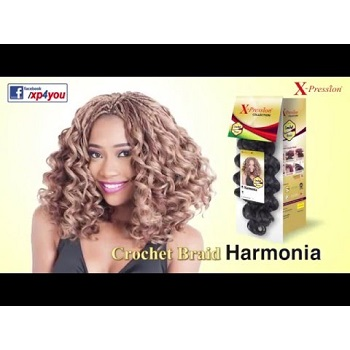 Xpression Harmonia Crochet Braid
