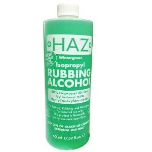 HAZ Rubbing Alcohol 50% 500ml