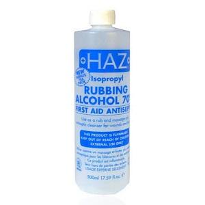 HAZ Rubbing Alcohol 70% 500ml