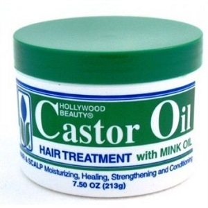 Hollywood Beauty Castor Oil with Mink Oil 7.5 oz