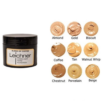 Leichner Camera Clear Tinted Foundation Pots 30ml