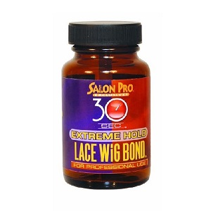 Salon Pro 30 Sec Lace Wig Bond - Extreme Hold  3.4 oz/100ml