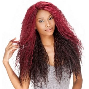Sensationnel Synthetic Lace Front Wig Empress Edge Tesse