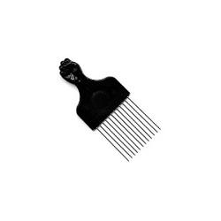 Metal Afro Comb