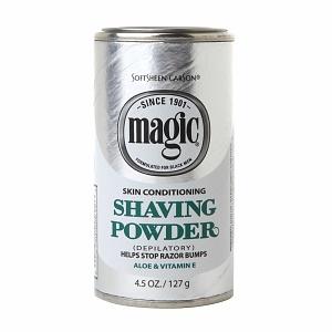 Magic Shaving Powder Platinum 4.5 oz