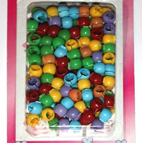 Multi Colour Open Close Beads