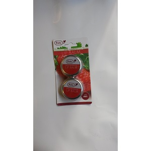 2X Pretty Juicy Strawberry Lip Balm (2 pieces)