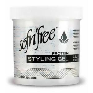 Sofn'free Protein Styling Gel Clear 32oz