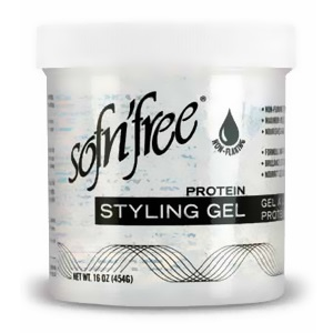 Sofn'free Protein Styling Gel Clear 6oz