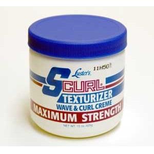 SCurl Texturizer Wave & Curl Creme Maximum Strength