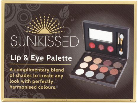 Sunkissed Lip & Eye Pallette