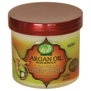 TCB NATURALS ARGAN OIL LEAVE-IN CONDITIONER 12 OZ