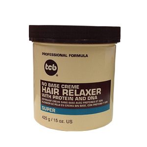TCB No Base Crème Hair Relaxer - Super 15oz