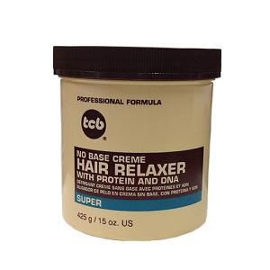 TCB No Base Crème Hair Relaxer - Super 15oz