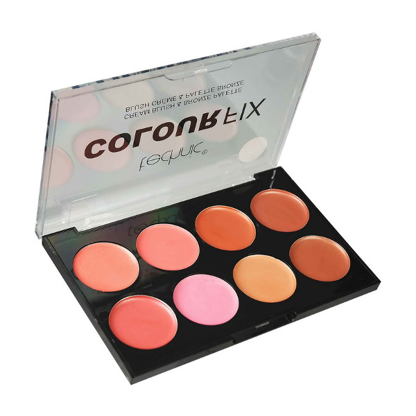 Technic Colour Fix Cream Blush & Bronze Palette 8x 2.6g