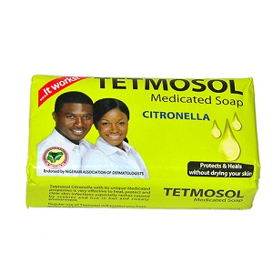 Tetmosol Medicated Soap with Citronella