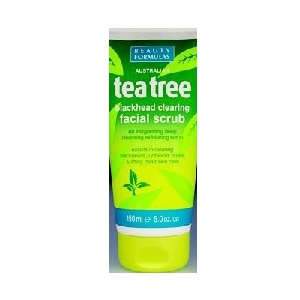 Beauty Formula Tea Tree Blackhead Facial Scrub 150ml