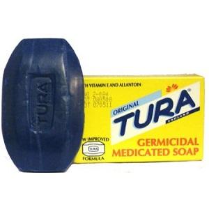 12x Tura Germicidal Medicated Soap  (1 Dozen)