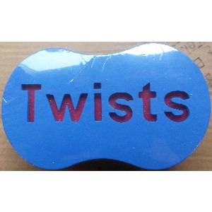 Single Sided Twist Sponges Large