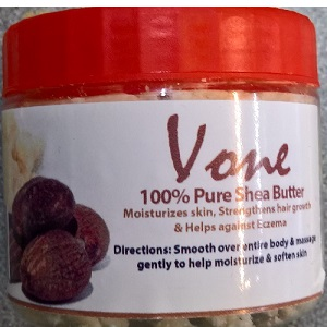 Vone 100% Pure/Raw Shea Butter 1 kg