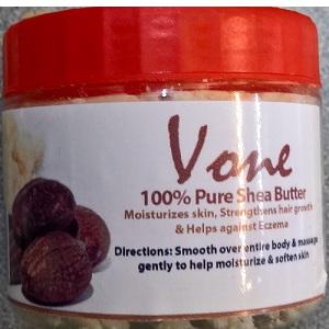 Vone 100% Pure Shea Butter 130g