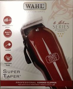 Wahl Super Taper Professional Hair Clipper 5 Star