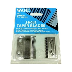 Wahl 2 Hole Taper  Blades Set  (1006-400)