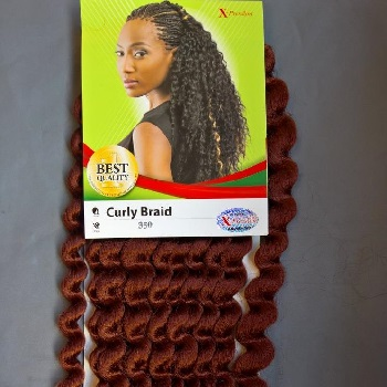 "Xpression Curly Braid 40"" (Crochet Braid)"