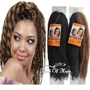 Noble Gold Afro Braid