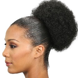 Top Afro Bun PonyTail - Small