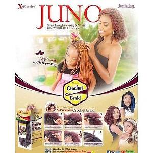 Xpression Juno Crochet Braid