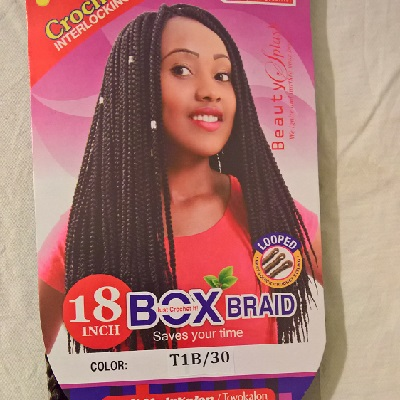 Angels Box Braid 18
