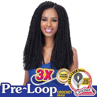 FreeTress Braids 3X Pre-loop Island Twist 16