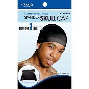 Magic Collection Spandex Skull Cap