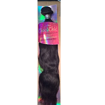 Choco Chic Brazilian Human Hair Natural Wave 18