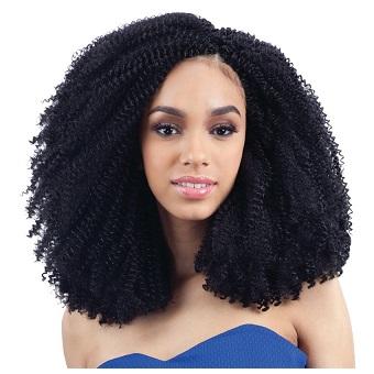 Freetress Braid 3X Afro Screw Braid (Crochet Braids)