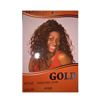 Noble Gold Synthetic Dancing Curl Weave
