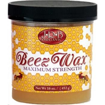 JRB Organic Beez Wax Maximum Strength 16 oz
