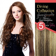 Divine Collection Synthetic 5 PCS Clip in Extension