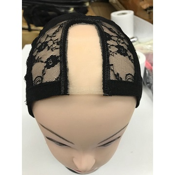 Adjustable Stretch Weaving Cap With Lace Front