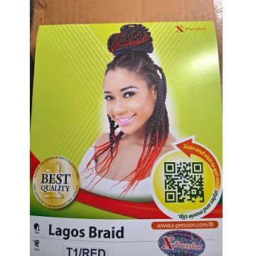 """Xpression Lagos Braid (36"""", 44"""")"""