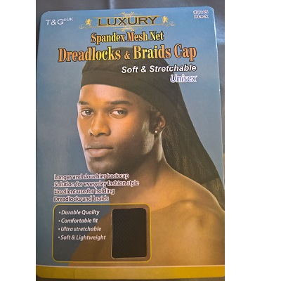 T&G Luxury Spandex Mesh Net Dreadlocks & Braids Cap