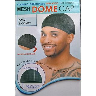 T&G  Mesh Dome Cap - Black