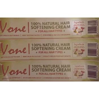 Vone 100% Natural Hair Softening Cream 200ml