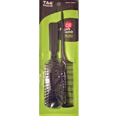 T&G 2PC BRUSH & COMB SET