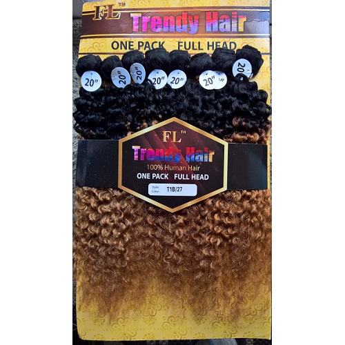 Trendy Hair 100% HH New Brazilian Jerry Bundles 20