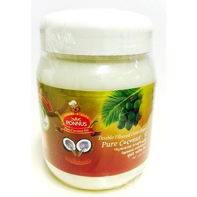 Ponnus Pure Coconut Oil 1 Liter