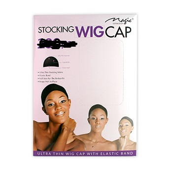Magic Stocking Wig Cap Black – 1 Piece